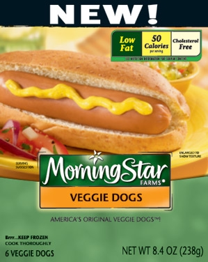 Morningstar Farms Vegetarian Hot Dogs